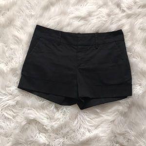 CLUB MONACO 🇲🇨 size 4 black shorts